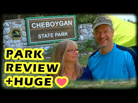 Cheboygan State Park Review: +THANK YOU❤, State Parks in Michigan